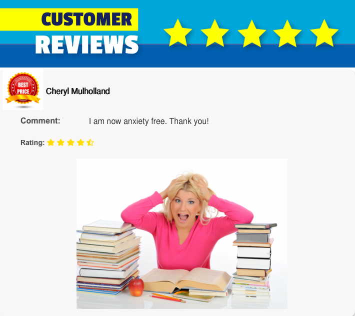 Hypnotherapy review by Cheryl Mulholland